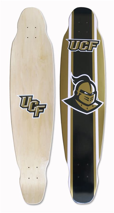Skateboard Skatebord Maple Satelite Promo ucf longboard skateboard deck central florida knights logo longboard decks ebay