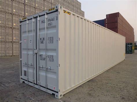 fuss high cube  lagercontainer neuwertig