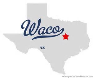 Waco Tx To Tx Map Of Waco Tx
