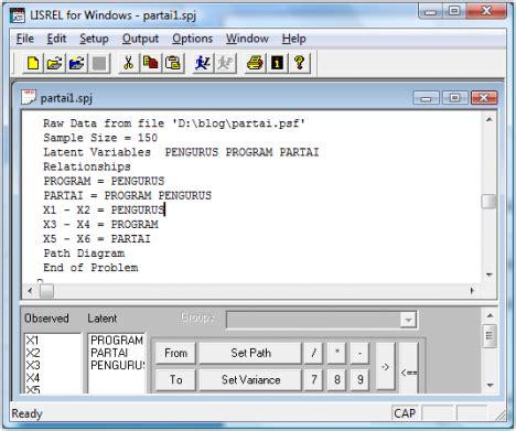 Structural Equation Modeling Dengan Lisrel 8 8 Graha Ilmu about lisrel aplikasi lisrel pada model persamaan struktural seri lisrel
