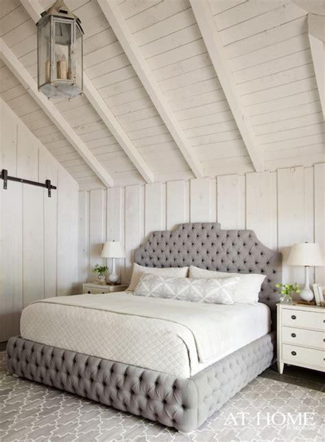 gray velvet headboard gray velvet tufted headboard country bedroom sherwin