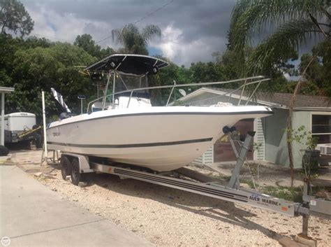 1998 century boat 1998 used century 2600 cc center console fishing boat for