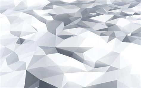 vj  poly art white blue pattern wallpaper