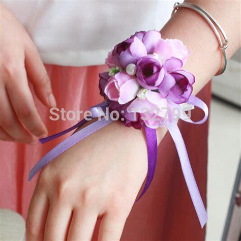 aliexpress com buy elegant bridesmaid wrist corsages