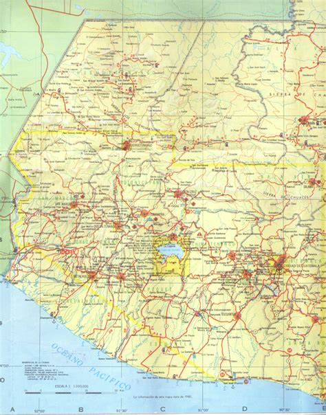 road map of western usa maps of guatemala map library maps of the world