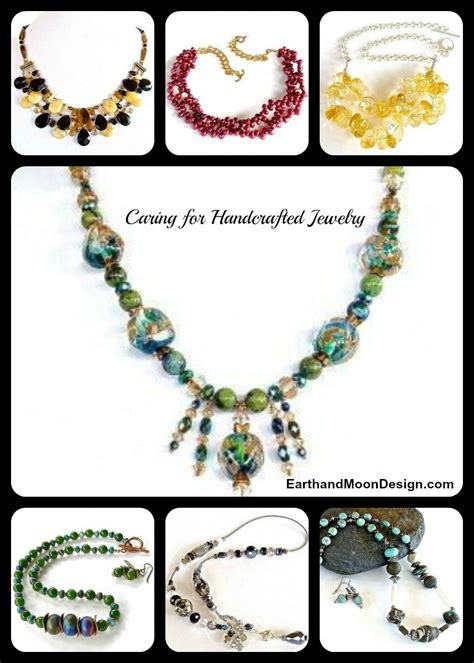 Handmade Jewellery Techniques - tips caring for handcrafted jewelry