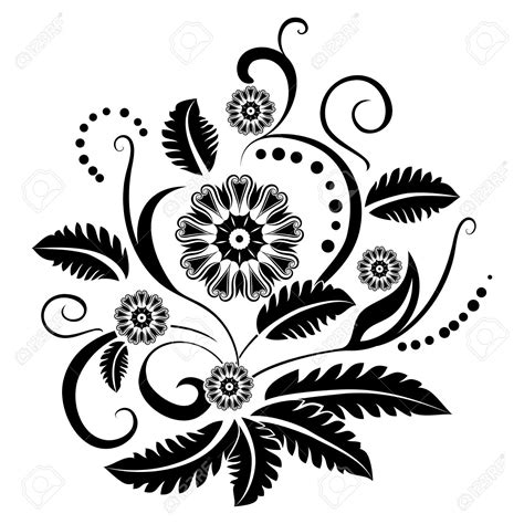 hd black and white background design