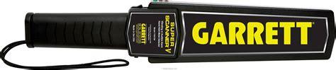 Garret Metal Detector Wand 969 garrett superscanner v security metal detector wand review