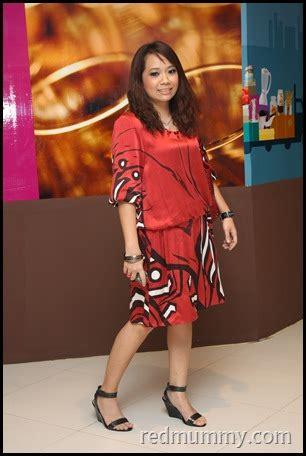 Dress Merah Batikgaun Merah Batik p1 potong and batik dress pencinta merah lover