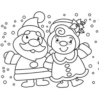 christmas coloring pages free n fun mr mrs claus coloring page free christmas recipes