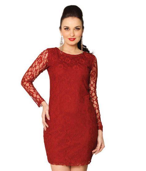 New Miss Marun buy miss maroon cotton floral mini bodycon dresses