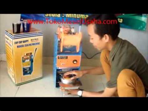 Mesin Sealer mesin cup sealer manual