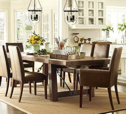 pottery barn dining rooms knockout knockoffs pottery barn benchwright dining room