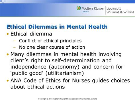 chapter issues and trends in psychiatric mental health chapter 9 legal and ethical issues ppt video online