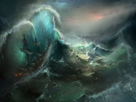 stormy seas  abstract background wallpapers