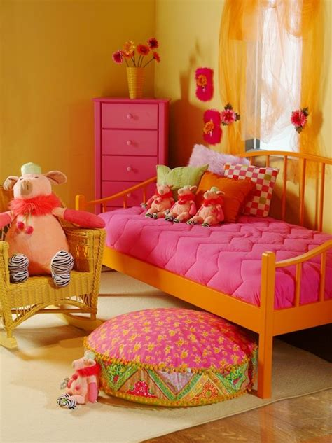 pink and orange bedroom best 25 orange kids rooms ideas on pinterest