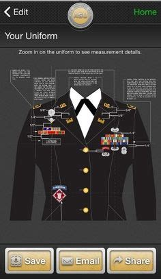 asu jacket layout army asu placement guide pictures to pin on pinterest