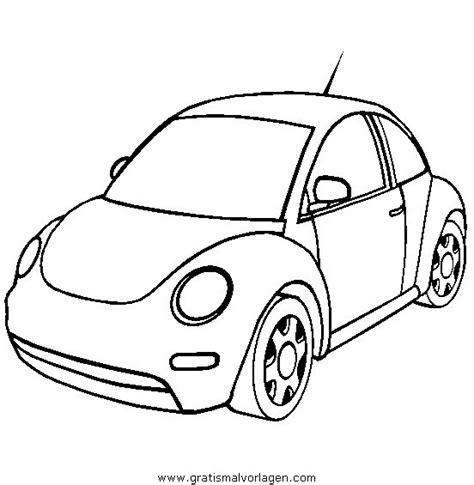cars to color volkswagen beetle gratis malvorlage in autos