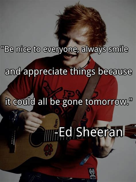 ed sheeran brief biography ed sheeran quotes and sayings quotesgram