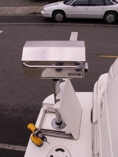 boat grill with pedestal magma newport series ir grill grill install gallery