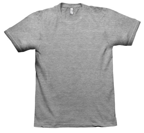 Gray T Shirt U261 the gallery for gt blank grey t shirts