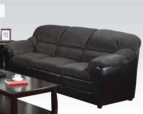 acme sofa acme sofa connell olive gray ac15955