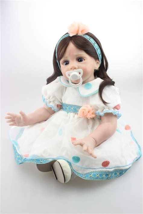 Sale Baby Doll Dewasa 1 large size 60cm silicone reborn baby dolls for sale lovely