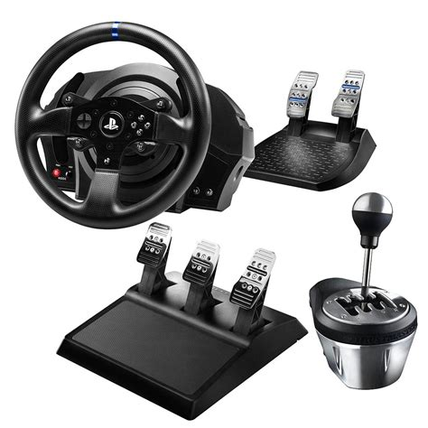 volante pc con frizione thrustmaster t300rs on stg