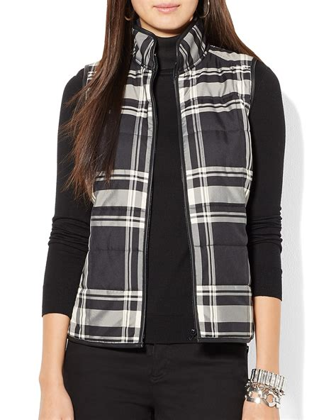 Ralph Plaid Quilted Vest by Ralph Quilted Plaid Vest Bloomingdale S