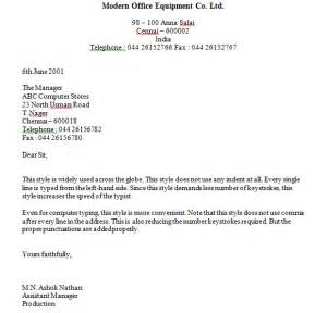 Business Letter Format Justified Business Letter Format Left Justified Sample Business Letter