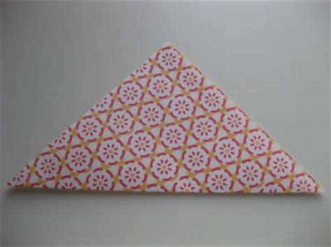 Origami Hats You Can Wear - origami triangle hat folding