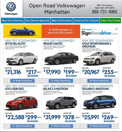 Open Road Volkswagen Of Manhattan by Open Road Volkswagen Of Manhattan New York Vw Dealers