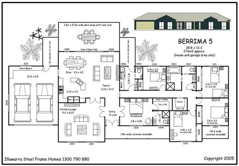 5 Bedroom House Plan by Berrima 5 Kit Homes For Sale