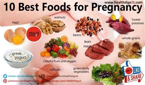 10 Best Foods Your Baby 10 Best Foods For Pregnancy It Is Important To Eat Healthy During Pregnancy For Your Baby S