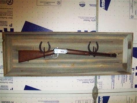 another barnwood rifle display rack by bake