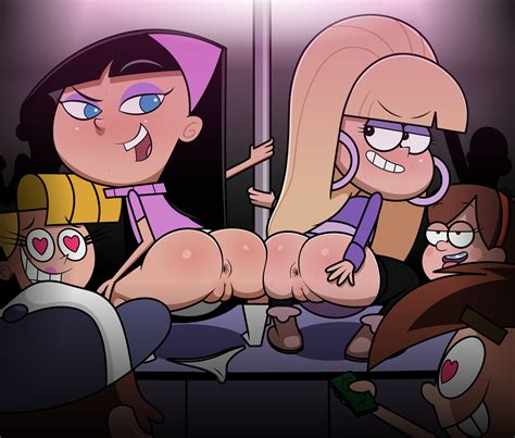 Image Dipper Pines Fairly Oddparents Gravity Falls Mabel Pines Pacifica Northwest