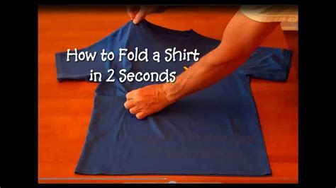 cna essential skills how to fold a shirt in 2 seconds short refresher version 0 41 youtube