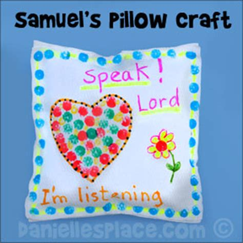 s pillow a mostly real story about a real books bible crafts samuel and
