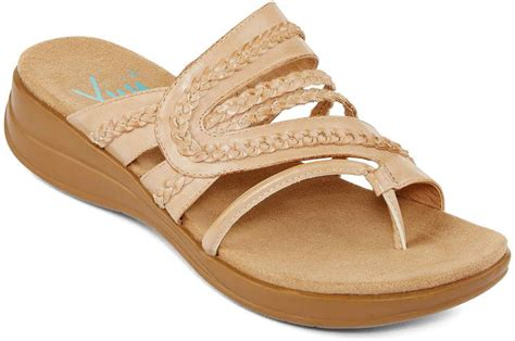 jcpenney shoes sandals jcpenney yuu yuu jabiana sandals in wide width