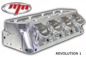 m m competition racing small block chevy auminum heads