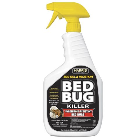 bed bug egg kill pyrethroid resistant spray  oz pf harris
