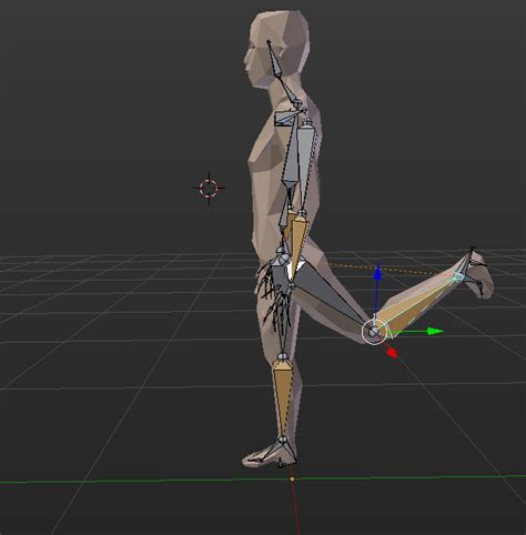 blender tutorial inverse kinematics rigging inverse kinematics leg arm rig bending the wrong