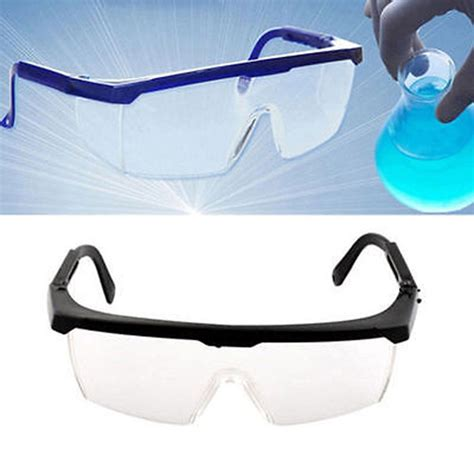 2 Colors Eye Protection Protective Safety Goggles Glasses Work 2x vented safety eye protection protective lab anti fog clear goggles glasses ebay
