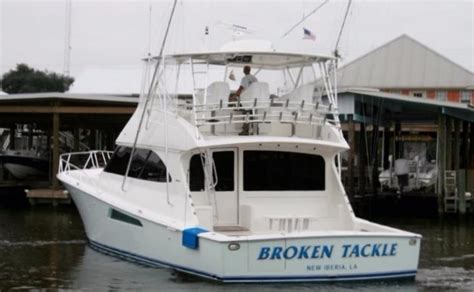 viking boats and tackle 60 viking yachts 2009 broken tackle for sale in new iberia