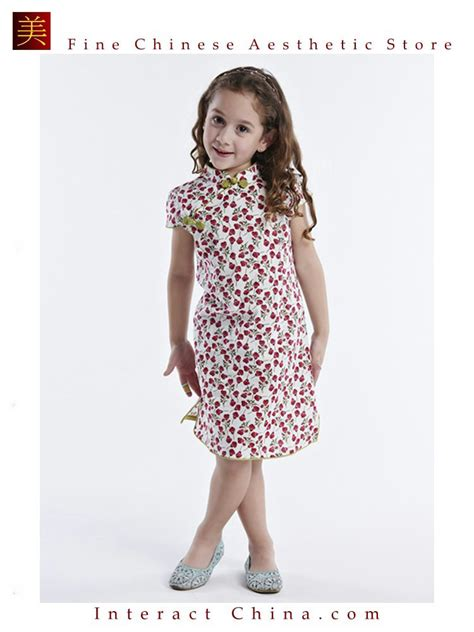 handmade dress cheongsam qipao children