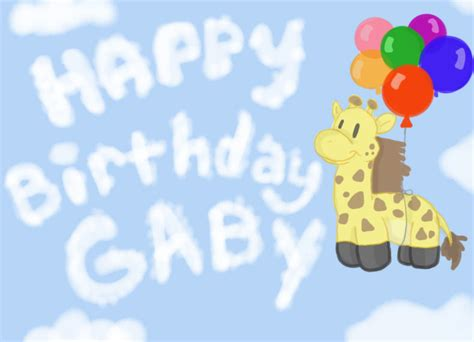 imagenes de happy birthday gaby happy birthday gaby by thetelltaleheart on deviantart