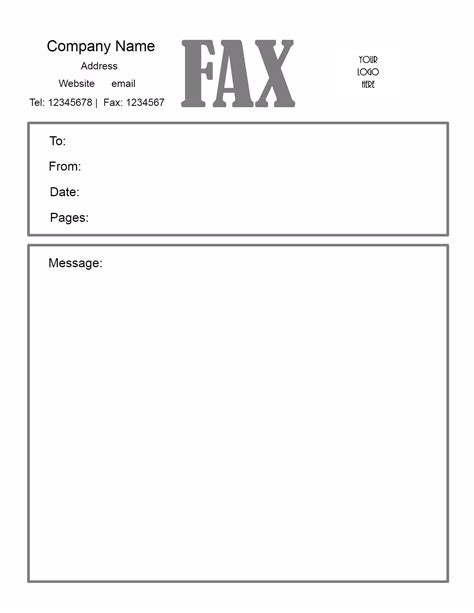 free sample fax cover sheet loss and damage claim templates at