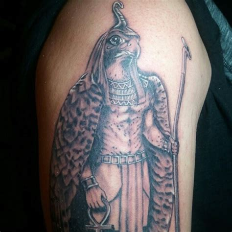 egyptian gods tattoo designs god horus tattoomagz