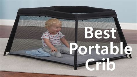 best portable baby crib travel folding crib