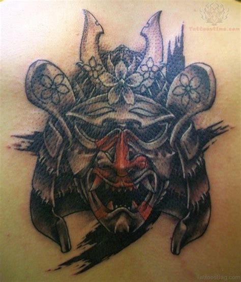 samurai helmet tattoo designs 43 alluring japanese samurai tattoos for back